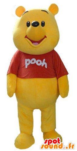 Mascotte spotsound amazon winnie the pooh famoso cartone animato