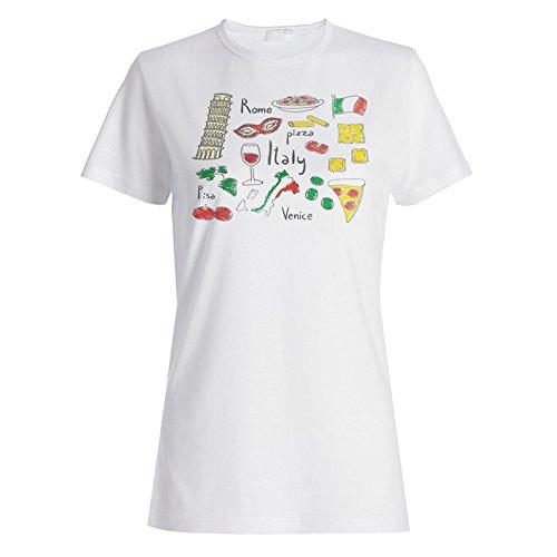 Rom Italien Reise Die Welt Lustige Neuheit Damen T-shirt a665f