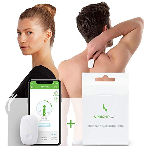 Upright GO + Adhesives - Posture Trainer and Corrector for Back