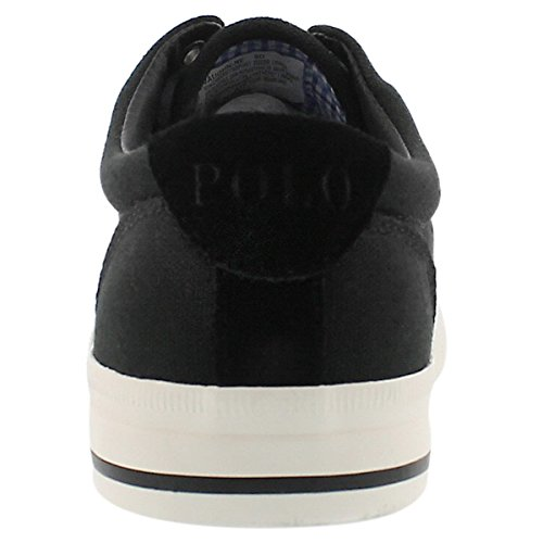 Polo Par Ralph Lauren Mens Vaughn Lace-up Mode Sneaker Noir
