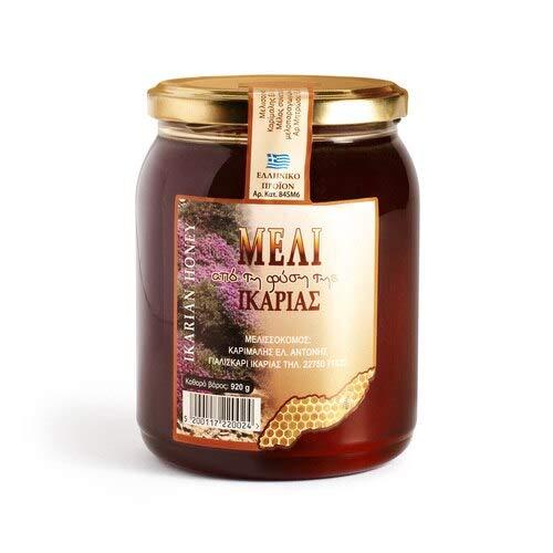 Greek Honey from Ikaria in Glass Jar 920 grams