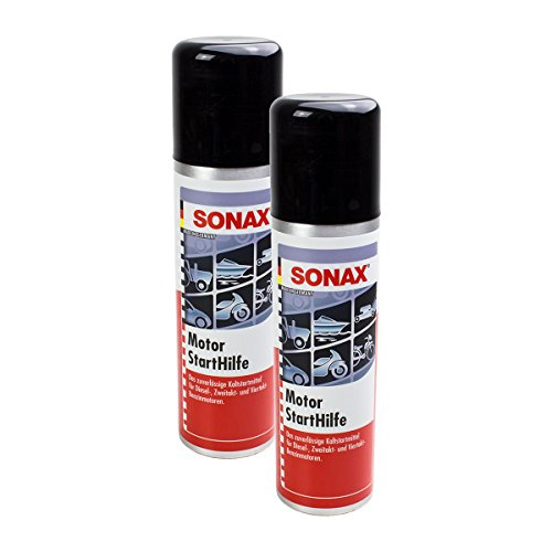 Sonax 2 x 03121000 Engine Start Help Engine Care 250ml: