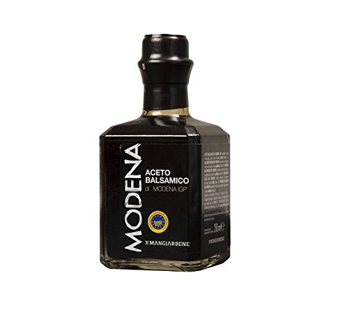 Balsamico Vinegar (Balsamic Vinegar di Modena IGP Certified Product from Italy, by Serendipity Life. Aceto Balsamico IGP Barrel Aged Premium Thick and Glossy for a perfect dressing (250 ml).)