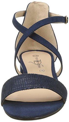Ouvert 005 Divines marine Bleu Femmes À Les Sandales Bout Brigida Le Usine De Tw8wHnB7