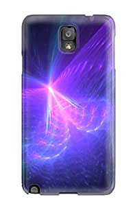 For Galaxy Note 3 Protector Case Fractal Phone Cover