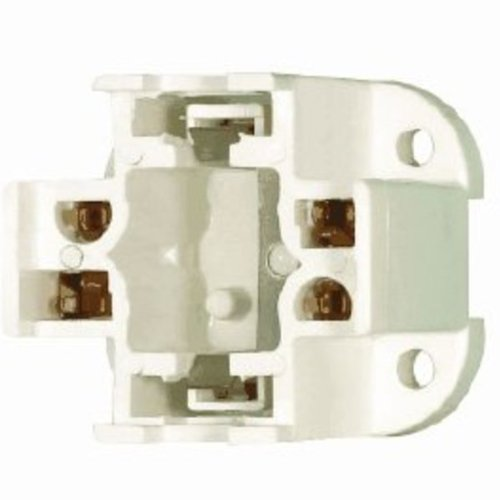 Satco 90-1551 - 26 Watt - CFL Socket - 4 Pin G24q-3 and GX24q-3 - Bottom Screw ()