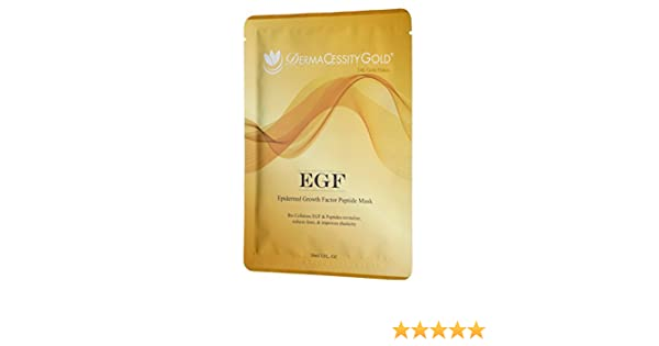 DermaCessity Gold Epidermal Growth Factor Peptide Mask (1 oz) Blum Naturals Daily Eye Makeup Remover, Organic Cucumber Extract, 4.25 Oz, 3 Pack