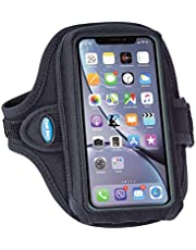 Tune Belt Armband [with Extra Room to Fit Cases] for iPhone 11, 11 Pro Max, Xr, Xs Max, 7/8 Plus, Galaxy S8 S9 S10 Plus and Note 8 9 10+; Fits OtterBox - Sweat-Resistant for Running & Working Out