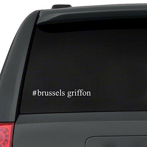 Teeburon Brussels Griffon Hashtag Pack of 3 Vinyl Decal
