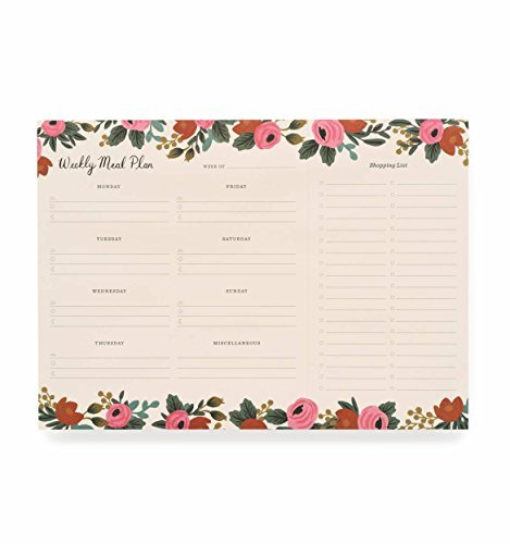 Rifle Paper Co Rosa Meal Planner