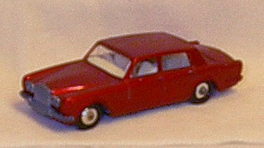 1967 Matchbox Regular Wheels Rolls Royce Silver Shadow ()
