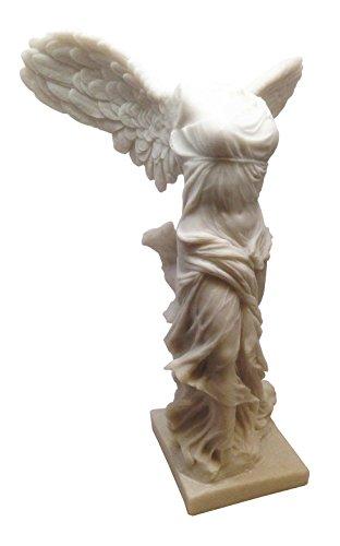 "Large Greek Nike of Samothrace Statue 12""h Victoria Winged Victory Sculpture Figurine"