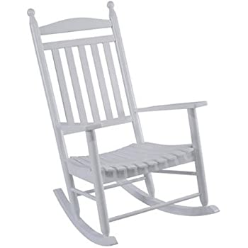 Charmant Jack Post KN 22W JE Knollwood Classic Wood Rocking Chair, Gloss White