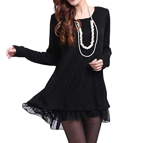 Comfy Solid Slim Fitted Women's Sleeve Long Pencil 1 Comfy Dress FqPxgFaUw