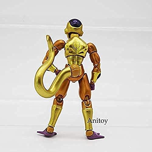 WXxiaowu SHFiguarts Dragon Ball Z Golden Frieza Action PVC Figure da Collezione Model Toy 11 5cm KT4232