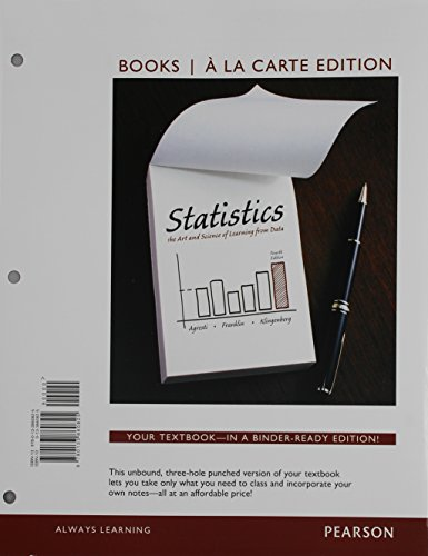 Statistics, Books a la Carte Edition Plus MyLab Statistics with Pearson eText -- Access Card Package (4th Edition)