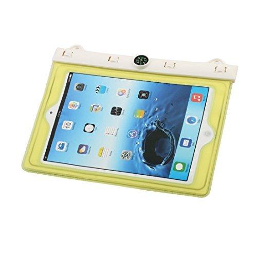 Amazon.com: eDealMax Protector resistente PVC al aire Libre Senderismo agua del recorrido del bolso seco de la Bolsa amarilla DE 9,7 pulgadas del iPad: ...