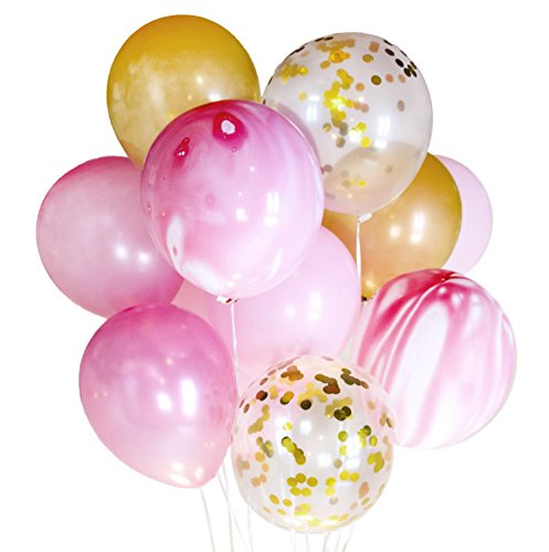 14-x-confetti-balloons-wedding-birthday-party-decoration-photobooth-pink-marble14
