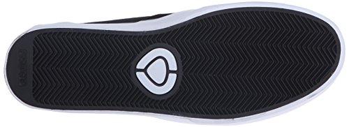 C1RCA Herren Hesh 2.0 Durable Leichte Einlegesohle Skateschuh Schwarz-Weiss
