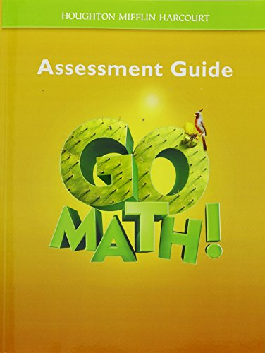 Go Math!: Assessment Guide Grade 5