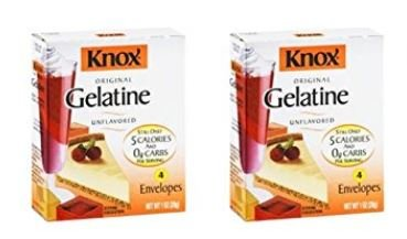 2 boxes - Knox Gelatin Unflavored Original, 4 per box, Total 8 packets ()