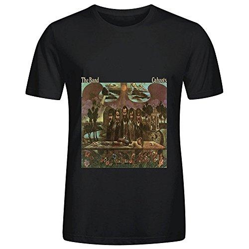 The Band Cahoots Roll Men O Neck Art T Shirt Black