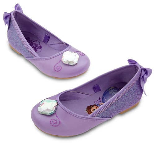 Disney Store Girls Sofia the First Costume Shoes (11/12) -