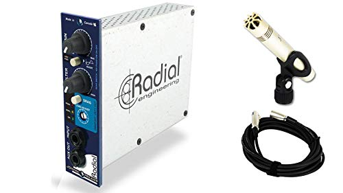 Radial Engineering JDV-Pre 500 bundle with JoeMeek JM27 & Cable (3 ()