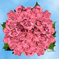 200 Fresh Cut Pink Roses for Valentine's Day | Kiko Roses | Fresh Flowers Express Delivery | The Perfect Valentine's Day Gift