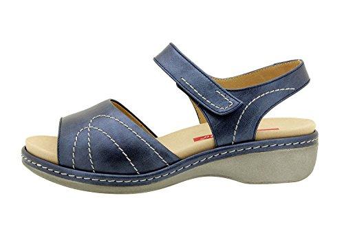 Komfort Damenlederschuh Piesanto 8801 sandale klettverschluss herausnehmbaren einlegesohlen bequem breit PieSanto Outlet-Store Spielraum Limitierte Auflage Billig Online-Shop Manchester liCtVLf
