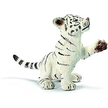 Schleich Tiger Playing White Cub