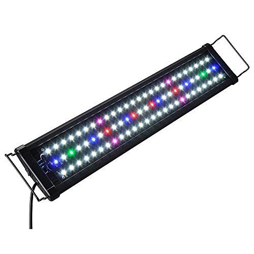 Lapha'' US New Aquarium Fish Freshwater Full LED Light Marine Plant Spectrum Tank mount Acuario 0.5W 78 LED For 24