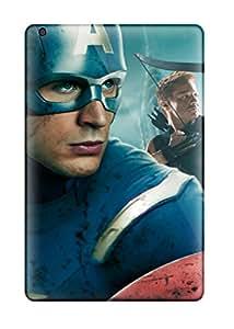 Alan T. Nohara's Shop Discount Captain America In Avengers Movie Durable Ipad Mini 3 Tpu Flexible Soft Case