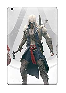For Finleymobile77 Ipad Protective Cases, High Quality For Ipad Mini Assassins Creed 4 Skin Cases Covers