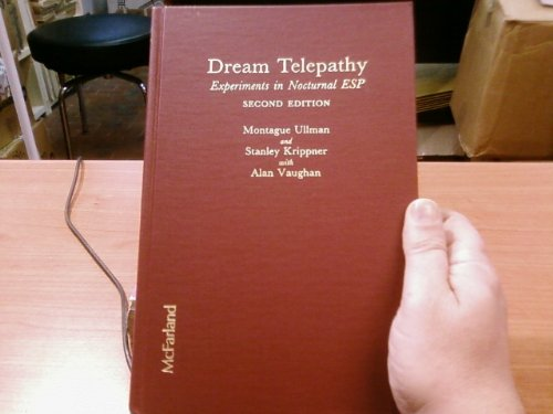 Dream Telepathy: Experiments in Nocturnal Esp by Brand: McFarland n Company