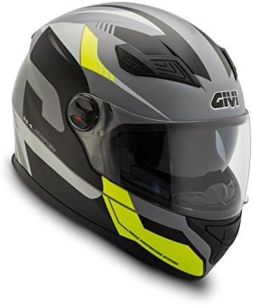 GIVI Casco Moto Integrale 50.4B Sniper Sport giallo NERO M