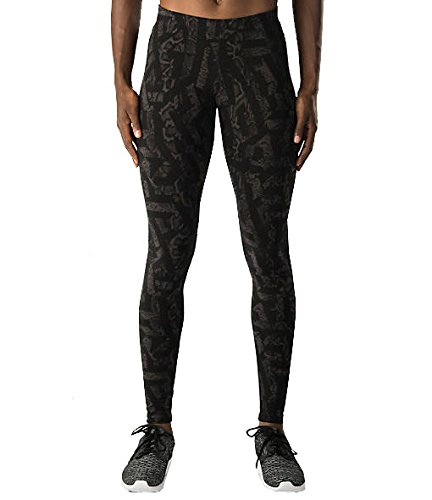 Nike Womens Leg-A-See All Over Print Deep Pewter/Black SM (4-6)