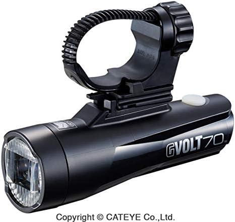 CatEye Unisex - Adulto Gvolt 70 Luz de Bicicleta, Negro, Lux: Amazon.es: Deportes y aire libre