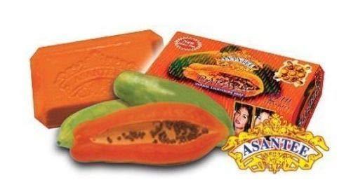 Asantee Papaya and Honey Skin Whitening Facial Soap Pack of 6