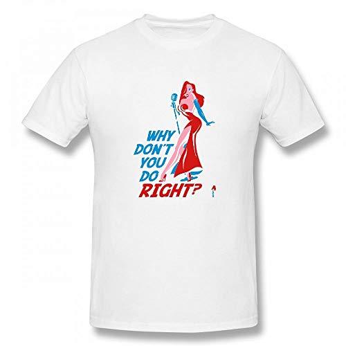 Jessica Rabbit Customizable Personalized Men's T-Shirt Tee