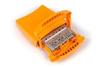 Amplificador de mástil 1e BI/BII/DAB 30dB, 1e FM 15dB, 1e