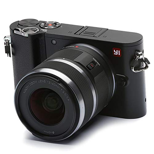 YI 4K Video 20 MP Mirrorless Digital Camera with LCD Touchscreen, Wi-Fi, Bluetooth, Interchangeable Lens 12-40mm F3.5-5.6 - Black (Best Selling Mirrorless Camera)