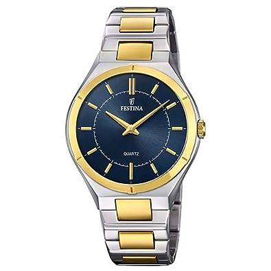 ca9954509e7 Relógio Festina Feminino Aço Prateado e Dourado - F20245 3  Amazon ...