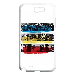 Police Samsung Galaxy N2 7100 Cell Phone Case White NiceGift pjz0035080112