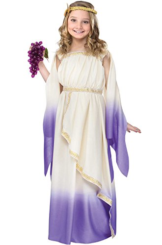 Greek Mythology Costumes (Purple Greek Goddess Kids Costume)
