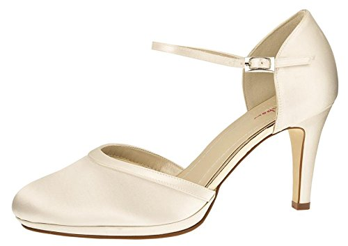 Rainbow Club Wedding Shoes Joni Ivory Size 5 Amazon Co Uk