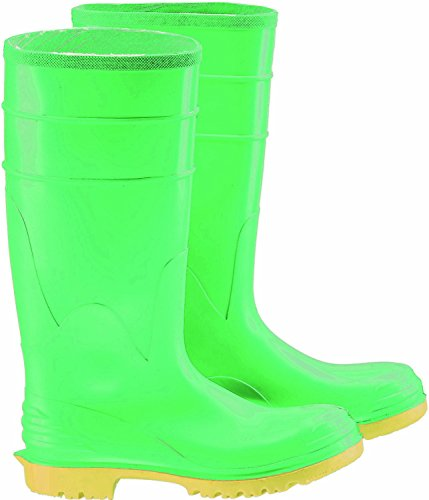Bata Shoe 87012-13 Onguard Industries Size 13 Hazmax Green 16'' PVC Knee Boots With Ultragrip Sipe Outsole, Steel Toe And Removable Insole ()