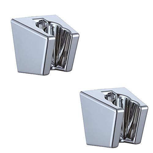 (XVL Handheld Shower Holder Shower Head Bracket Wall Mounted 2 Pieces Chrome XL49A-2)