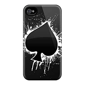 Iphone 4/4s XSE12666ZnWd Provide Private Custom Attractive Motorhead Band Pictures Shock Absorption Hard Phone Cover -JamieBratt