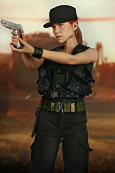 1//6 scale toy Terminator 2 Weathered Long Slide 1911 Pistol Sarah Connor
